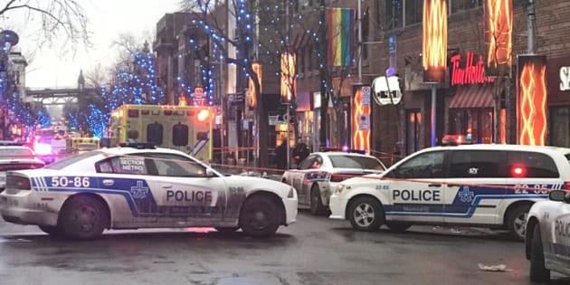 Ville-Marie: Trois personnes agressées à l'arme blanche