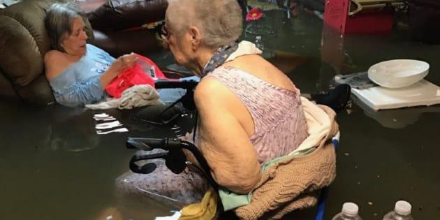 El rescate de 15 ancianos que conmueve a Houston