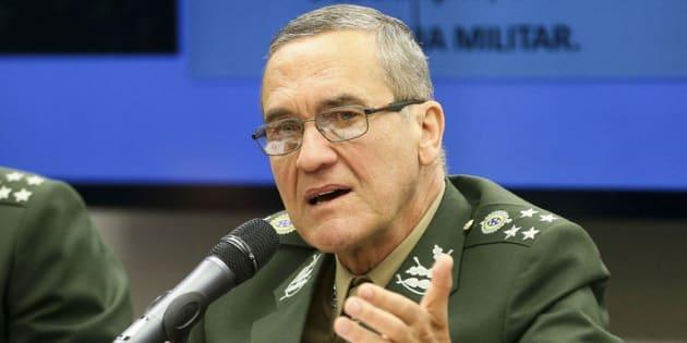 General Eduardo Dias da Costa Villas Bôas, comandante do Exército Brasileiro.