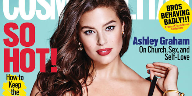Ashley Graham Cosmo cover