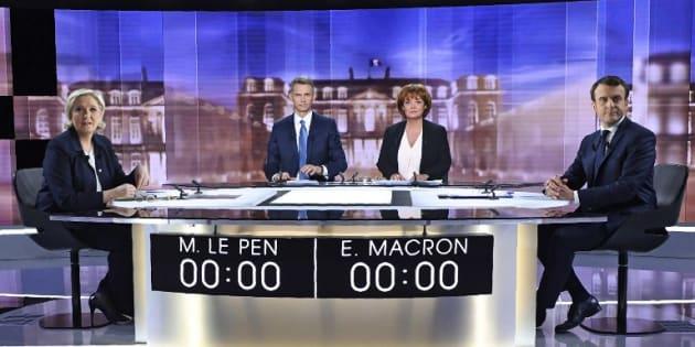 Le débat de l'entre-deux-toours a rassemblé 16,5 millions de téléspectateurs.