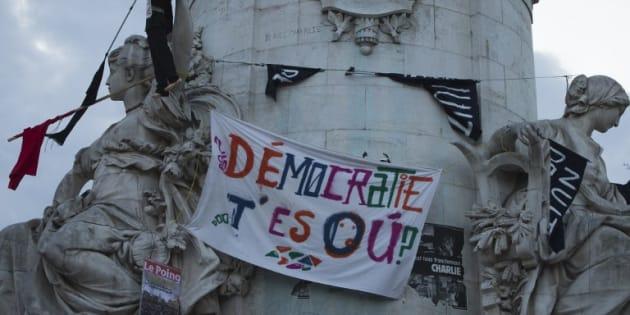 """Un œil sur la présidentielle, cette irréductible veut croire au succès de """"Nuit Debout"""""""