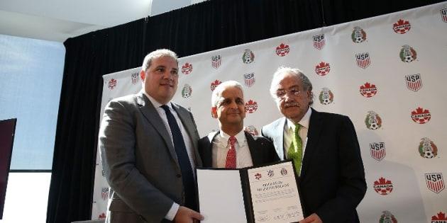 Les États-Unis, le Canada et le Mexique s'unissent pour le Mondial de football 2026