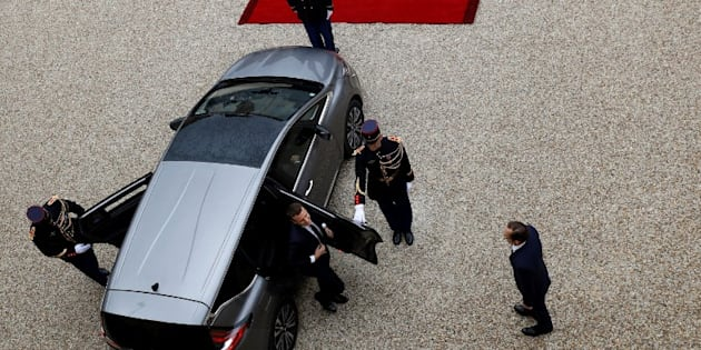 Emmanuel Macron va descendre les Champs-Elysées à bord d'une DS7 Crossback