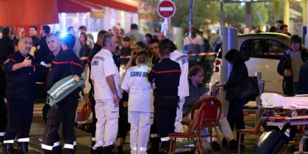 Scènes de panique à Nice après un tir de pistolet d'alarme, des blessés légers