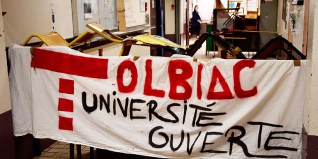 Des cocktails molotov ont été découverts à Tolbiac — Mouvement étudiant