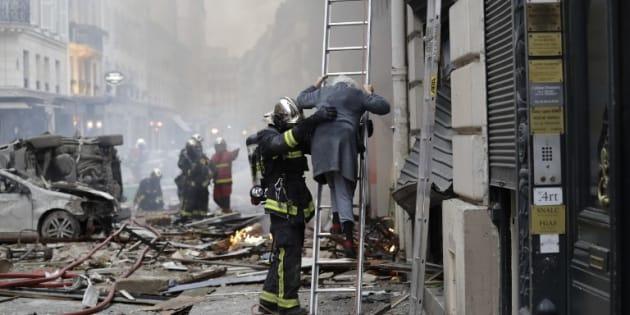 Après l'explosion rue de Trévise, les pompiers alertent sur le risque d'effondrement d'autres bâtiments