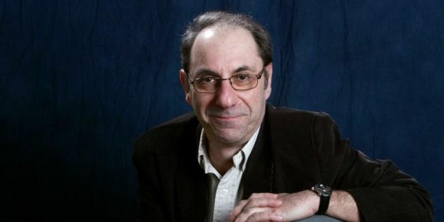 Alain Berbérian posant à Deauville en 2005.