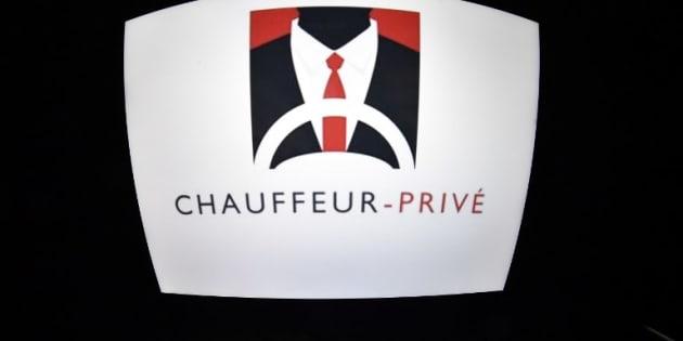 """L'ancien logo de Chauffeur Privé, désormais baptisée """"Kapten""""."""