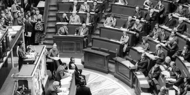 Simone Veil pointait qu'elle s'adressait à une Assemblée d'hommes. Ce ne serait plus le cas aujourd'hui (et on peut lui dire merci)