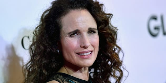 L'actrice Andie MacDowell, le 12 novembre 2018 à New York.