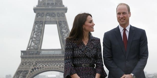 En weekend à Paris, Kate et William jouent (un peu) aux touristes