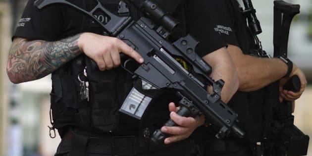 Un policier à Manchester le 24 mai 2017.