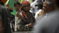 Les forces en présence de la bataille de Raqa qui vient de