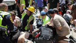 Une voiture percute des manifestants anti-racisme à Charlottesville, au moins un mort et plusieurs