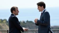 Les images du couple Macron-Trudeau au G7 ont inspiré les histoires les plus