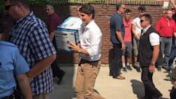 Of Course Trudeau Helps University Students Move