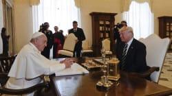 Lors de sa rencontre avec le pape, Trump avait beaucoup de choses à se faire