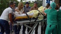 Identifican 50 cadáveres del accidente aéreo en