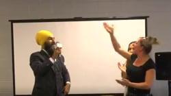 Sikh-Canadian Politician Jagmeet Singh Masterfully Handles Racist