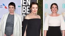 Cuenta regresiva: los 10 mejores looks de Olivia Colman en la alfombra