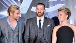 El tatuaje que comparten Scarlett Johansson, Chris Hemsworth y Chris