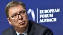 Le président serbe s'indigne de sa place sous l'Arc de Triomphe le 11