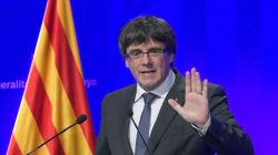Le président catalan répond au roi d'Espagne et se dit déterminé à appliquer
