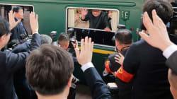 Les images de la première visite à l'étranger de Kim