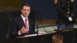 EPN habla sobre paz, amistad y derechos humanos en la ONU y las redes