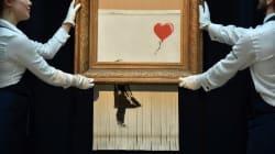 Mis aux enchères à Paris, Banksy prépare-t-il un nouveau