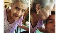 VIDEO: La tierna reacción de una abuelita al descubrir la