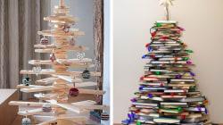 8 Árboles navideños para aquellos que no gastan en