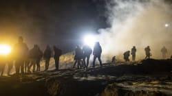 FOTOS: 100 migrantes centroamericanos intentaron cruzar a EU la noche de Año