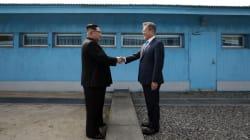 Les images historiques du sommet entre les deux