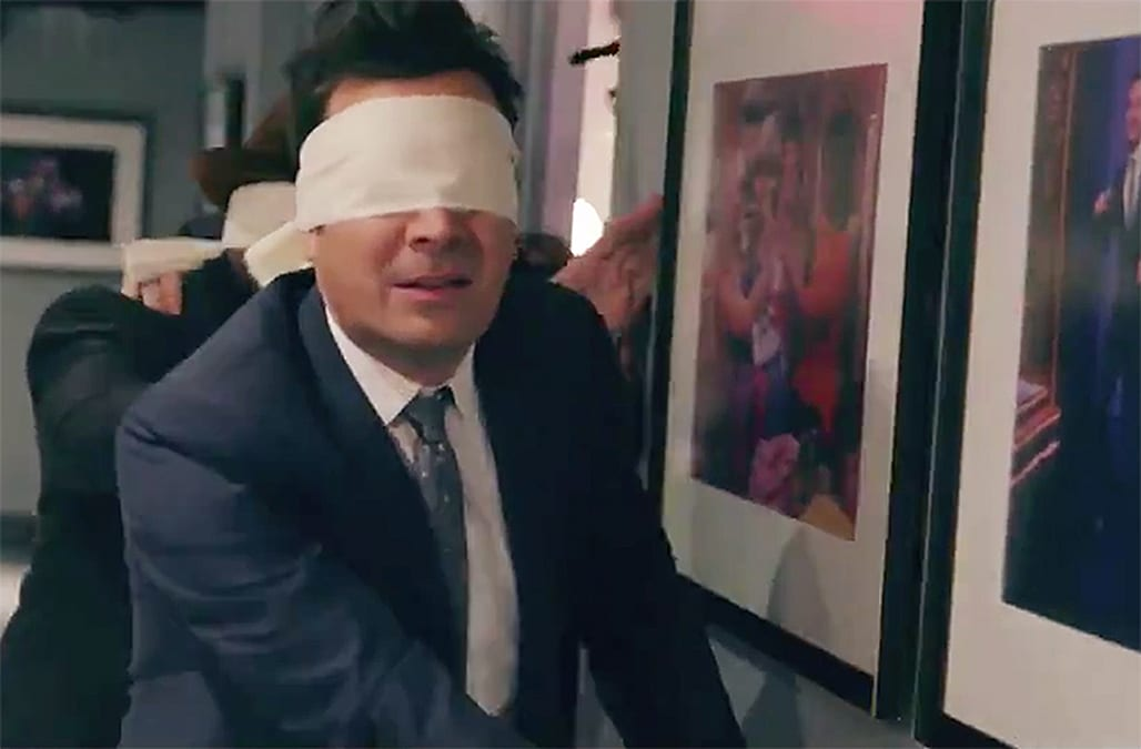Lindsay Lohan S Dance Moves Bewitch Jimmy Fallon In Bird Box