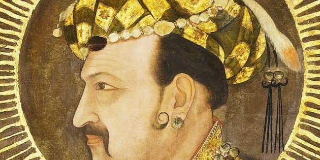 A portrait of Jahangir.