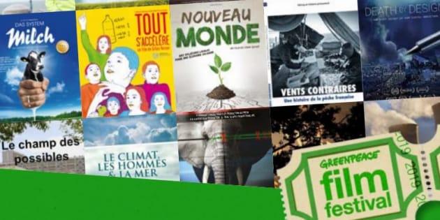 Le Greenpeace Film Festival se déroule du 14 au 28 janvier 2019.