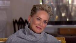 CBS demande à Sharon Stone si elle s'est déjà sentie «inconfortable» à Hollywood, elle pouffe de rire en