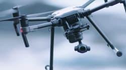 Des drones pour déneiger
