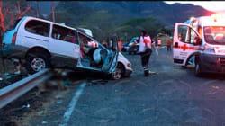 Mueren 9 personas en accidente sobre autopista Manzanillo-Colima; 6 eran menores de edad