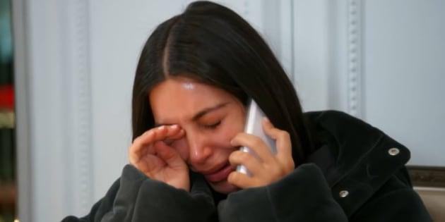 "Dans ""L'Incroyable famille Kardashian"", Kim Kardashian revient sur l'internement de son mari Kanye West."