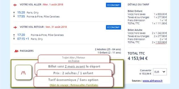 Retourner voir les miens Outre-mer me coûte 1500 euros, vous trouvez cela normal M. Macron?