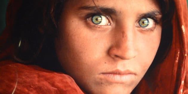 'Afghan Girl, 1984' by photographer Steve McCurry.