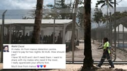 Manus Refugee Donates His Only Money To Aussie Refugee