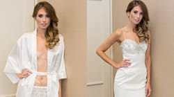 This Bride Didn't Let Her Ostomy Bag Keep Her From The Dress Of Her