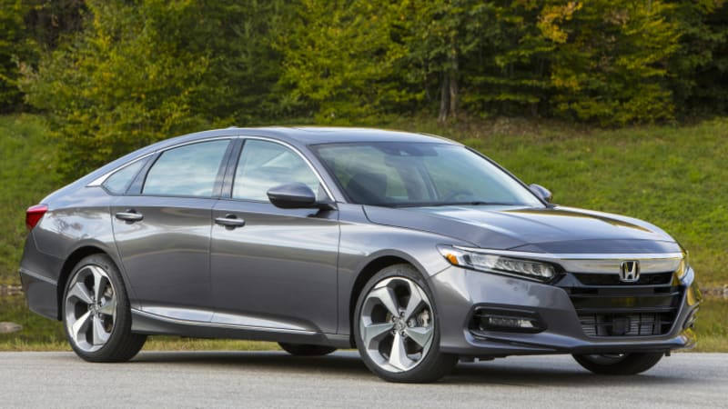 The 2018 Honda Accord Boasts Sleek New Fastback Styling Improved Ride And Interior Higher Fuel Efficiency A Bevy Of Awards Plaudits From