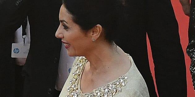 Miri Regev la ministre de la culture israélienne à Cannes le 17 mai 2017.