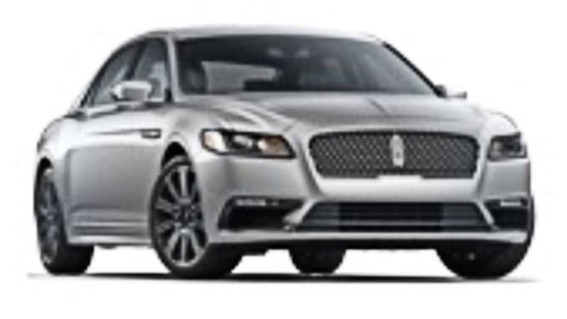 Oh Look It S The 2017 Lincoln Continental