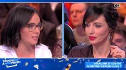 Agathe Duproux et Géraldine Maillet se réconcilient péniblement dans